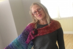 rainbow shawl 3