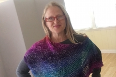 rainbow shawl 7