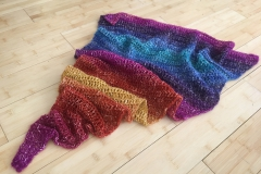 rainbow shawl 15