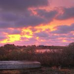 VineyardColors.com November 5, 2018 - Purple Dawn, Chilmark Pond