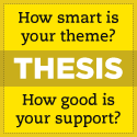 The Thesis Theme from DIYthemes